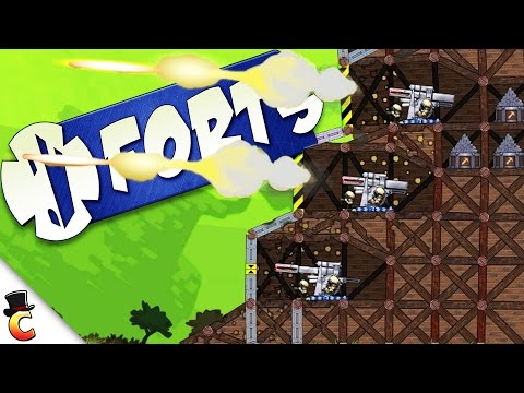 Triple Cannons!! - Forts Gameplay - Forts Campaign