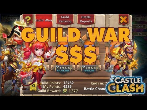 I DON'T HAVE A STRATEGY IN GUILD WARS | CASTLE CLASH
