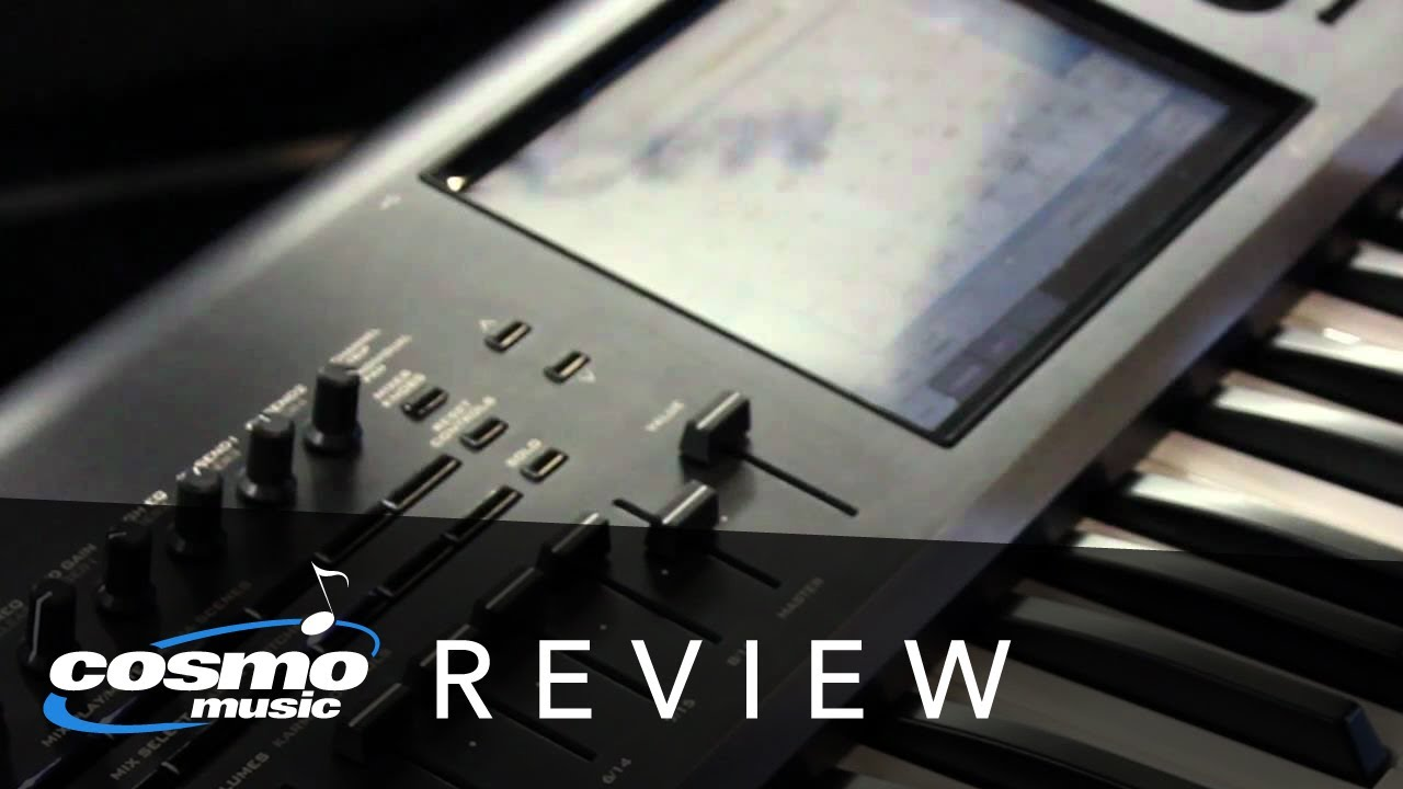 Korg Kronos Synthesizer Workstation Review