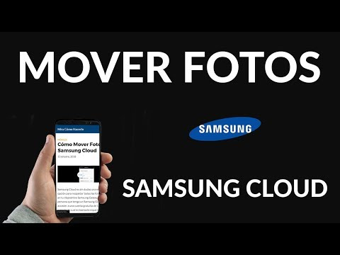 Cómo Mover Fotos a Samsung Cloud