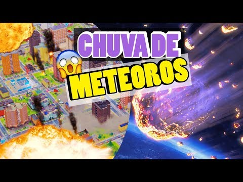 CHUVA DE METEOROS! | SIMCITY #EP5