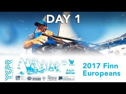 2017 Finn Euros - Day 1