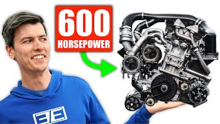 How Koenigsegg's Tiny Engine Makes 600 Horsepower - Only 3 Cylinders!