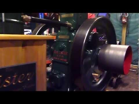 Lister CS 6/1 6HP diesel stationary engine restored
