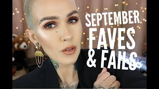 September Favorites and Fails