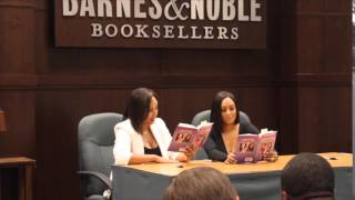 Reading Twintuition at Book Signing