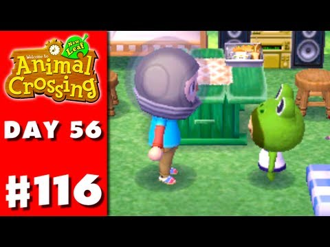 Animal Crossing: New Leaf - Part 116 - Prince's House (Nintendo 3DS Gameplay Walkthrough Day 56)