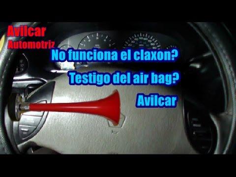 Reparar Claxon Dodge Caravan Voyager Avilcar Youtube