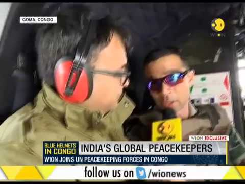 WION joins UN peacekeeping forces in Congo