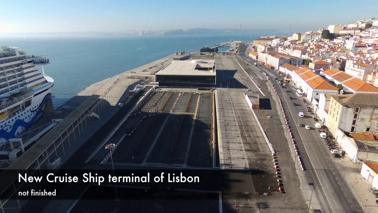 Old Lisbon And New Cruise Ship Terminal Bebop YouTube - Lisbon cruise ship port