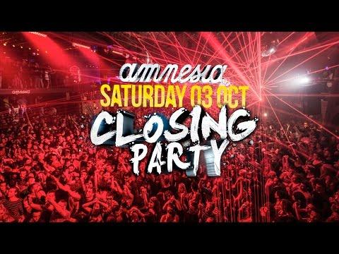 Closing Party @ Amnesia Ibiza 2015