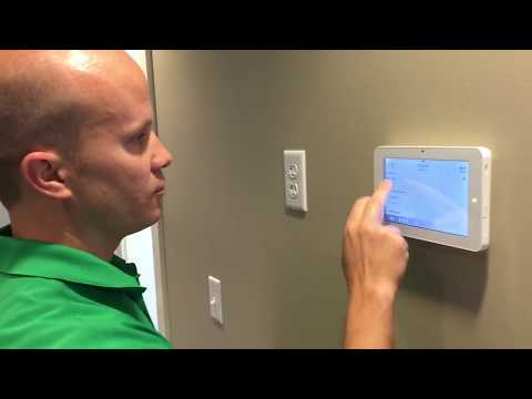 Complete Installation of IQ Panel 2 Security System with Sensors & Alarm.com Camera  SecurityAllStar