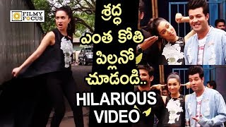 Shradhha Kapoor Full on Funny and Cute Video || Saaho Movie