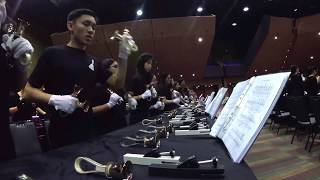 UNSW Handbells Society Performs Pomp and Circumstance No. 4 - Edward Elgar