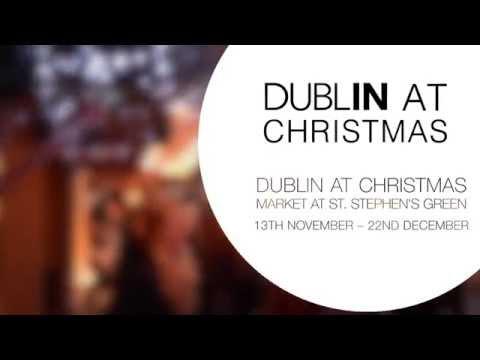 Dublin at Christmas Market at St. Stephen's Green