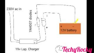 Making 12V Battery Charger with few easy steps