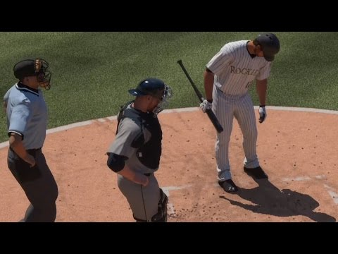 MLB The Show 16 - Seattle Mariners vs Colorado Rockies | Gameplay (PS4 HD) [1080p60FPS]