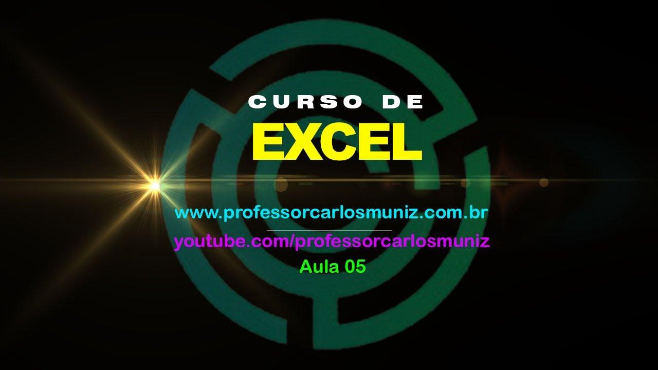 05 Excel Folha De Pagamento Continuação Youtube