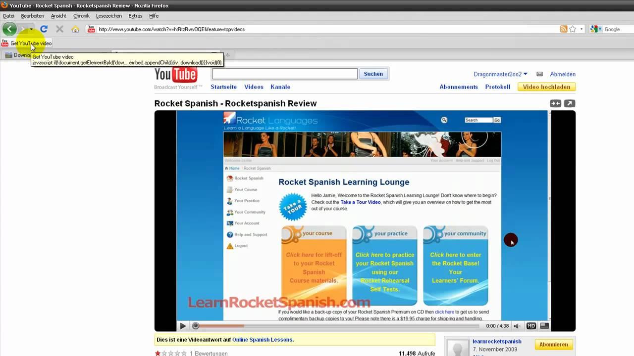 youtube videos speichern ohne programm