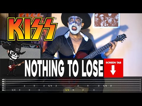 Kiss - Nothing To Lose (Guitar Cover by Masuka W/Tab)