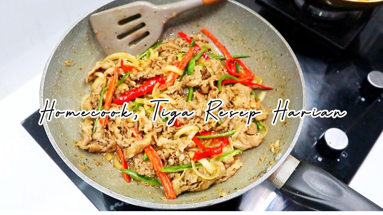 Tiga Resep Makanan Simple Masakan Sederhana Sehari Hari Masak Masakan Youtube