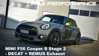 MG|Performance - F56 Cooper S | Stage 2 / Decat / Extrem Exhaust