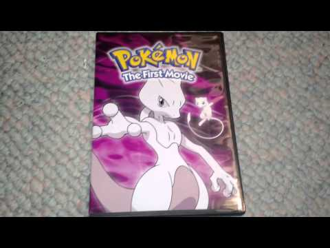 Pokemon The First Movie Dvd Unboxing Youtube