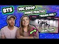[CHOREOGRAPHY] BTS (방탄소년단) 'MIC Drop' Dance Practice (MAMA dance break ver.) #2019BTSFESTA REACTION