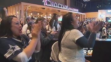 Thousands Pack Arlington Restaurant To Watch Cowboys Game