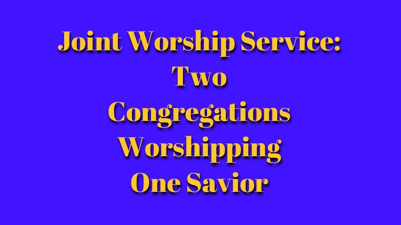 Wednesday Night Worship - Joint Service with Scotts Creek Baptist from  Sylva, NC