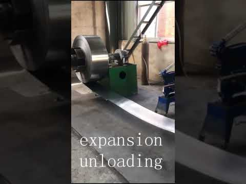 Steel Strapping Tempering With Oscillating Rewinding