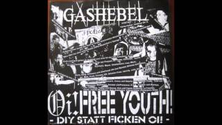 G.S.B - Asshole / GASHEBEL - dont fight our existence SPLIT LP(FULL)
