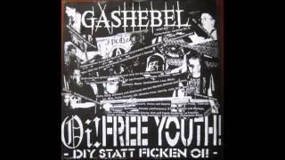 G.S.B - Asshole / GASHEBEL - dont fight our existence SPLIT LP(FULL)