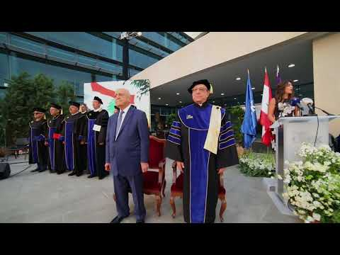 Commencement Ceremony and Inauguration of the New Building for the School of Medicine