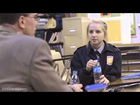 Teacher Jeffrey Wright: Apply Science to Real Life | Office Depot