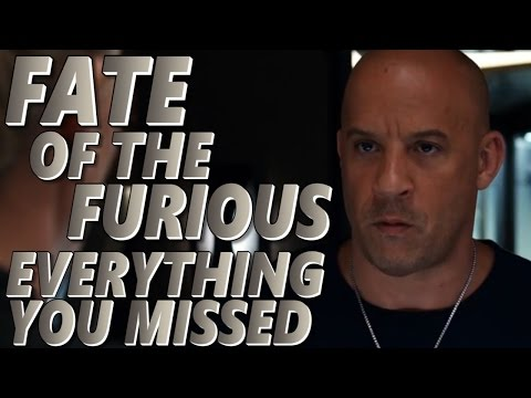 Everything You Missed From The Fate Of The Furious Official Trailer