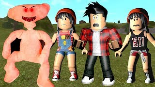 ESCAPE DO URSO DO MAL!!! - (Run from the evil bear !!) - Roblox Bear Alpha