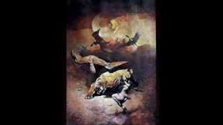 Frank Frazetta Art  Works: Fire and Ice