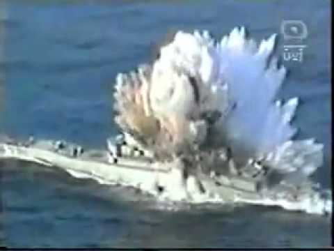 When a Torpedo hits a ship!!!
