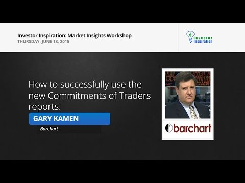 How to successfully use the new Commitments of Traders reports | Gary Kamenw