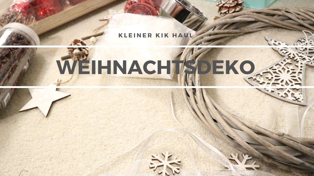 Weihnachtsdeko Kik.Kik Haul Weihnachtsdeko Vorfreude
