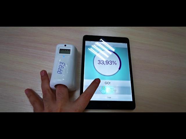 Pairing iPad with EDVAIS