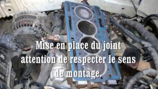Changement joint de culasse Moteur D7F.