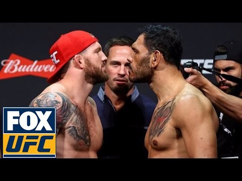 Full Weigh-in: Bader vs Nogueira | UFC ON FOX