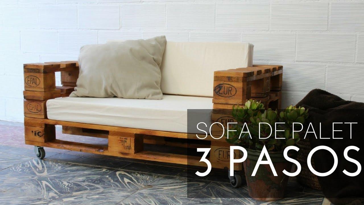 Sofa De Palete Para Sala
