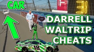 Darrell Waltrip Cheated in this Race