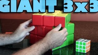 GIANT 3x3 - Unboxing, Solve