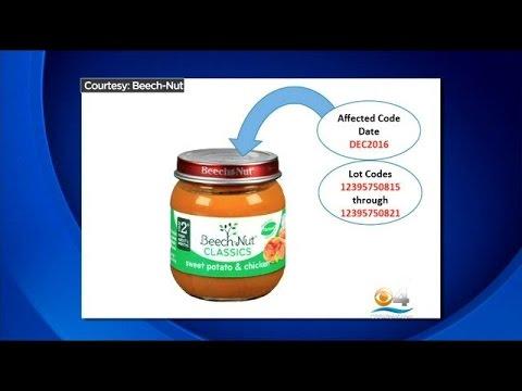 Beech-Nut Voluntarily Recalls 1,920 Pounds Of Baby Food
