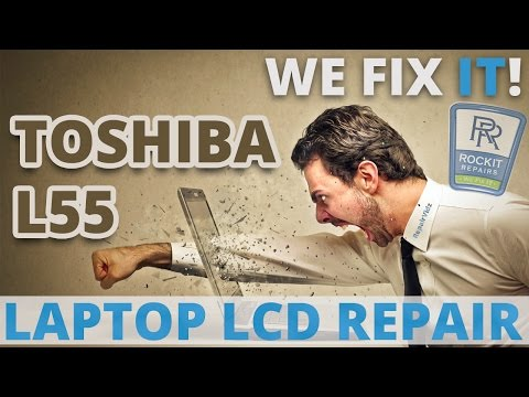 how to fix laptop toshiba l500 black screen