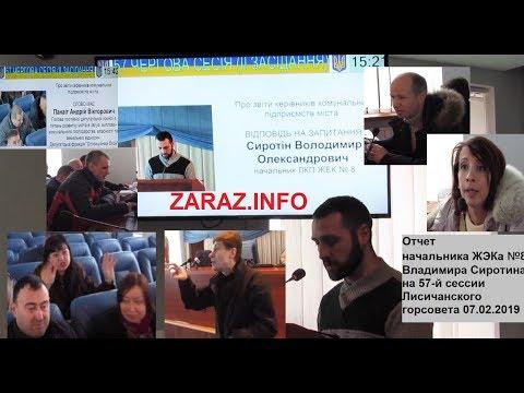 Физрук без высшего образования- начальник ЖЭКа №8  В. Сиротин отчитывается перед депутатами